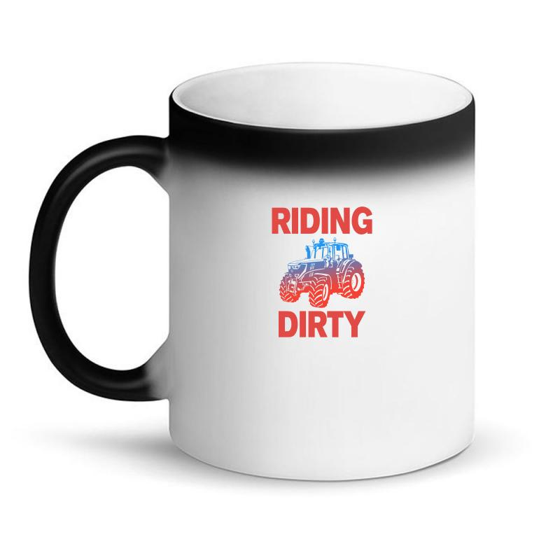 Riding Dirty Magic Mug   Artistshot