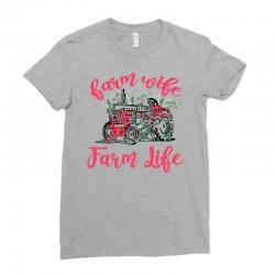 farm wife farm life Ladies Fitted T-Shirt | Artistshot