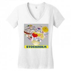 inshot 20191125 174938618 Women's V-Neck T-Shirt | Artistshot