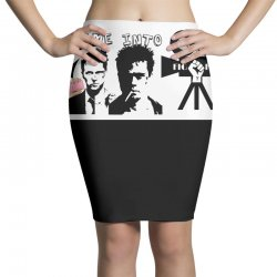 Fight club Pencil Skirts   Artistshot