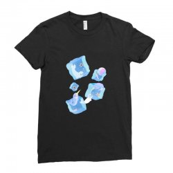 Seal and Narwhal party Ladies Fitted T-Shirt | Artistshot