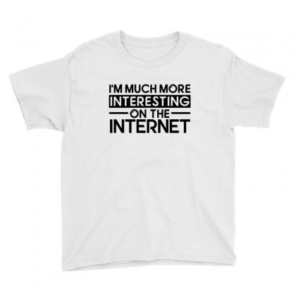 Interesting On The Internet Youth Tee Designed By Sr88