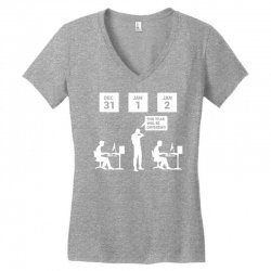 same thing different year Women's V-Neck T-Shirt | Artistshot