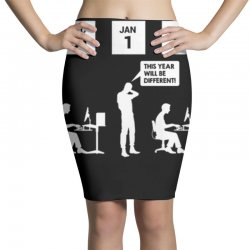 same thing different year Pencil Skirts | Artistshot