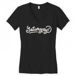 saturyay Women's V-Neck T-Shirt | Artistshot