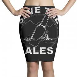 save the wh ales Pencil Skirts   Artistshot