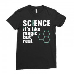 science magic Ladies Fitted T-Shirt | Artistshot