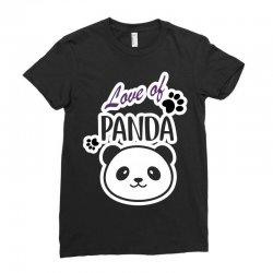 panda Ladies Fitted T-Shirt | Artistshot