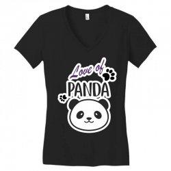 panda Women's V-Neck T-Shirt | Artistshot