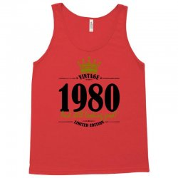 vintage 1980 and still looking good Tank Top | Artistshot