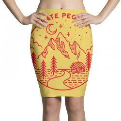 hate people merch Pencil Skirts | Artistshot