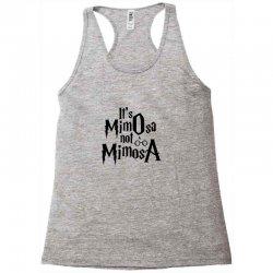 it's mimosa not mimosa Racerback Tank   Artistshot