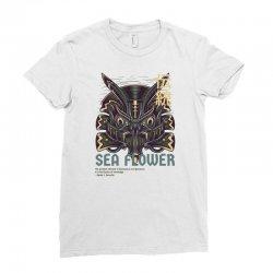 sea flower Ladies Fitted T-Shirt | Artistshot