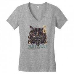 sea flower Women's V-Neck T-Shirt | Artistshot