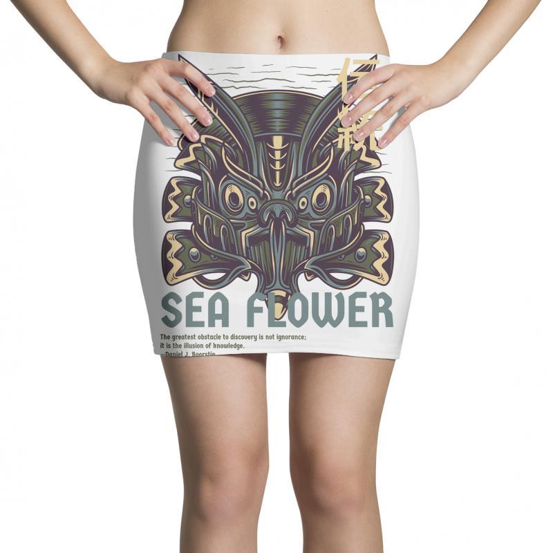 Sea Flower Mini Skirts | Artistshot
