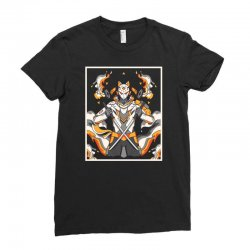 sentinel wolf Ladies Fitted T-Shirt | Artistshot