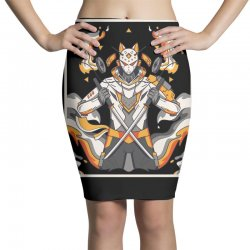 sentinel wolf Pencil Skirts | Artistshot