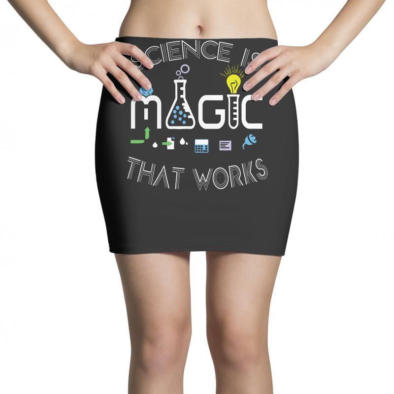 Science Is Magic That Works Mini Skirts | Artistshot