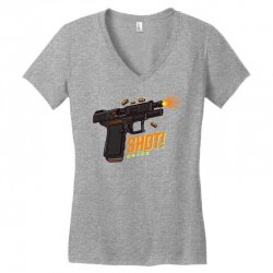 shot Women's V-Neck T-Shirt | Artistshot