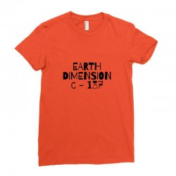 earth dimension c 137 Ladies Fitted T-Shirt | Artistshot