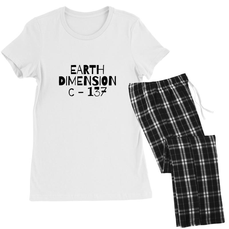 Earth Dimension C 137 Women's Pajamas Set   Artistshot