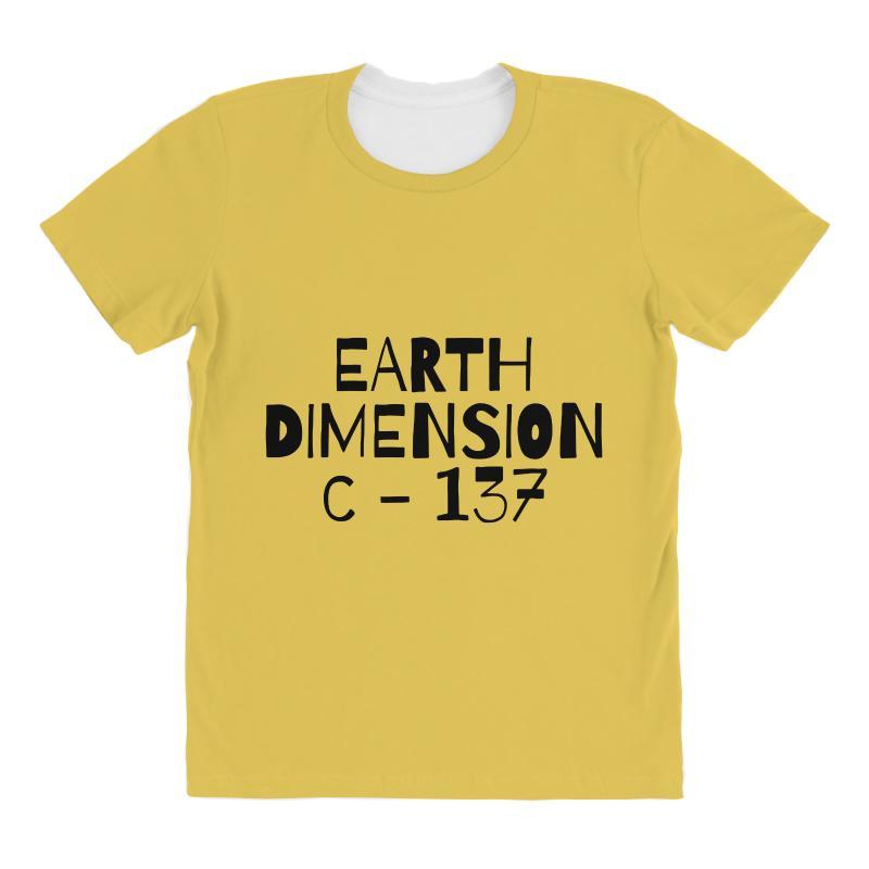 Earth Dimension C 137 All Over Women's T-shirt | Artistshot