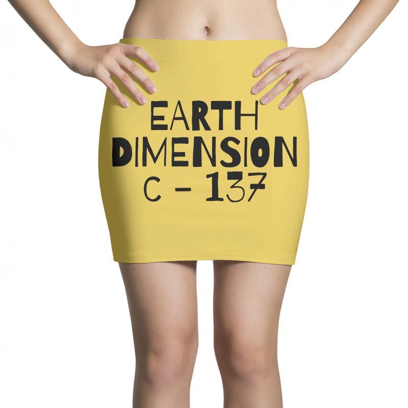 Earth Dimension C 137 Mini Skirts | Artistshot