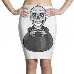 skeleton big pot Pencil Skirts | Artistshot