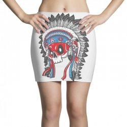 skull indians Mini Skirts   Artistshot