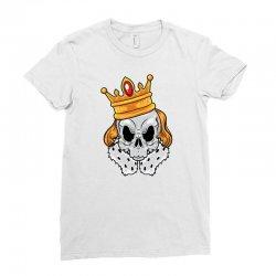 skull king Ladies Fitted T-Shirt | Artistshot