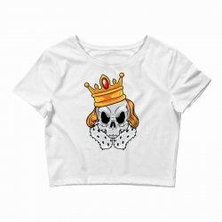 skull king Crop Top | Artistshot