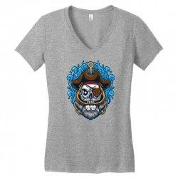 skull pirate Women's V-Neck T-Shirt | Artistshot