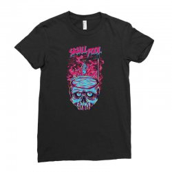 skull pool Ladies Fitted T-Shirt | Artistshot