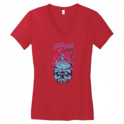 skull pool Women's V-Neck T-Shirt | Artistshot