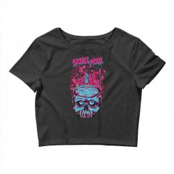 skull pool Crop Top | Artistshot
