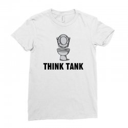think tank Ladies Fitted T-Shirt | Artistshot