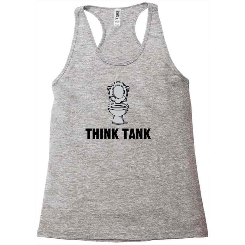 Think Tank Racerback Tank   Artistshot