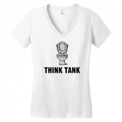 think tank Women's V-Neck T-Shirt | Artistshot