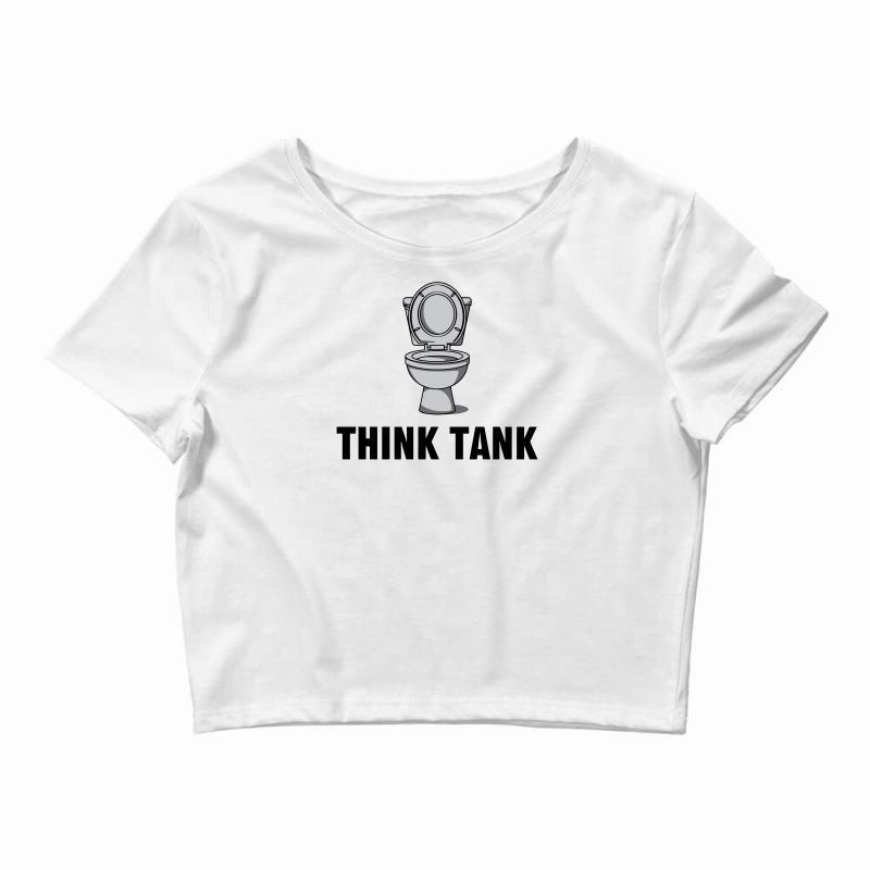 Think Tank Crop Top | Artistshot