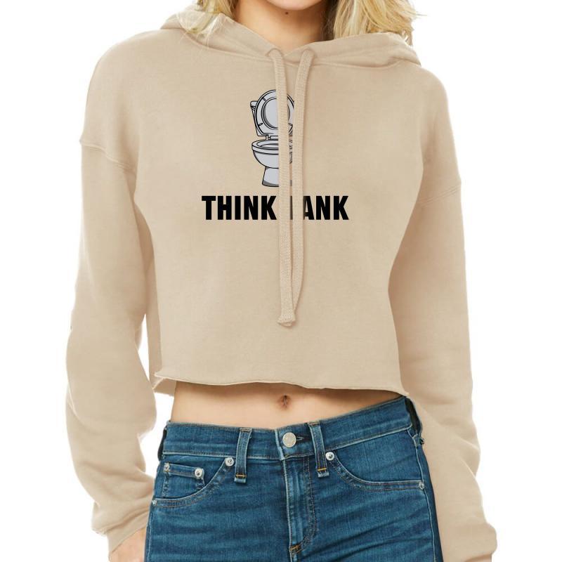 Think Tank Cropped Hoodie | Artistshot