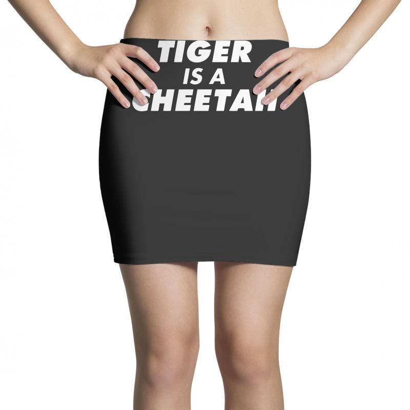 Tiger Is A Cheetah Mini Skirts   Artistshot