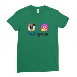 instagram merch Ladies Fitted T-Shirt | Artistshot