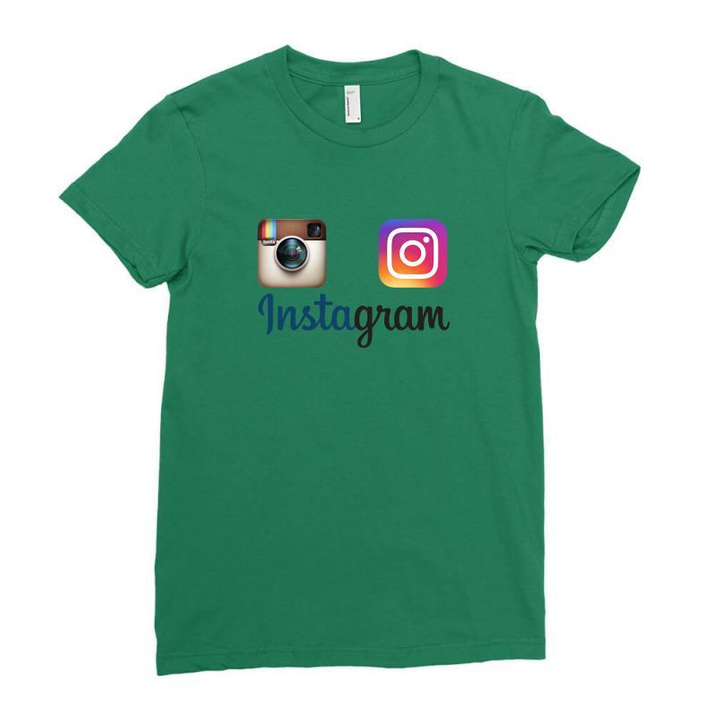 Instagram Merch Ladies Fitted T-shirt | Artistshot