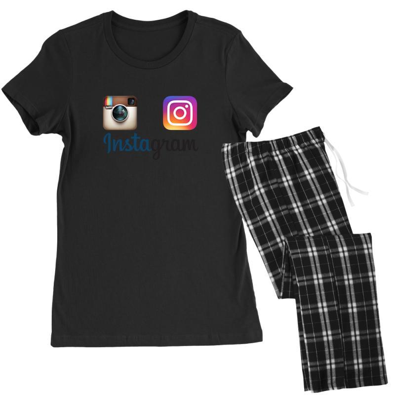 Instagram Merch Women's Pajamas Set   Artistshot