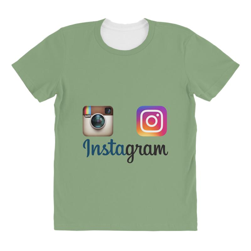 Instagram Merch All Over Women's T-shirt   Artistshot
