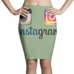 instagram merch Pencil Skirts | Artistshot