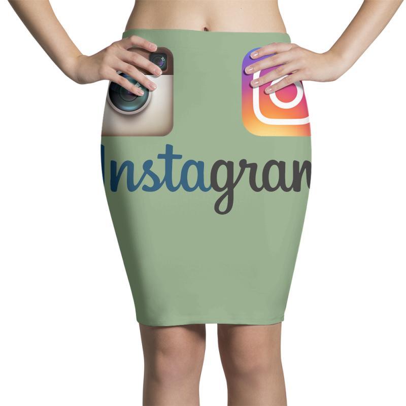 Instagram Merch Pencil Skirts | Artistshot