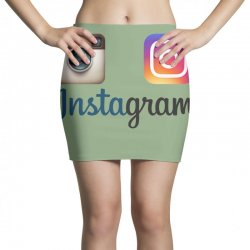 instagram merch Mini Skirts | Artistshot