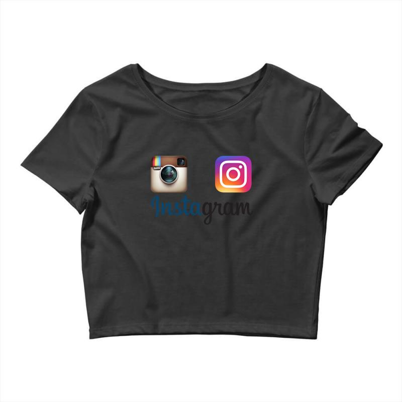 Instagram Merch Crop Top | Artistshot