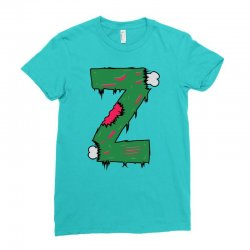 z for zombies funny Ladies Fitted T-Shirt | Artistshot